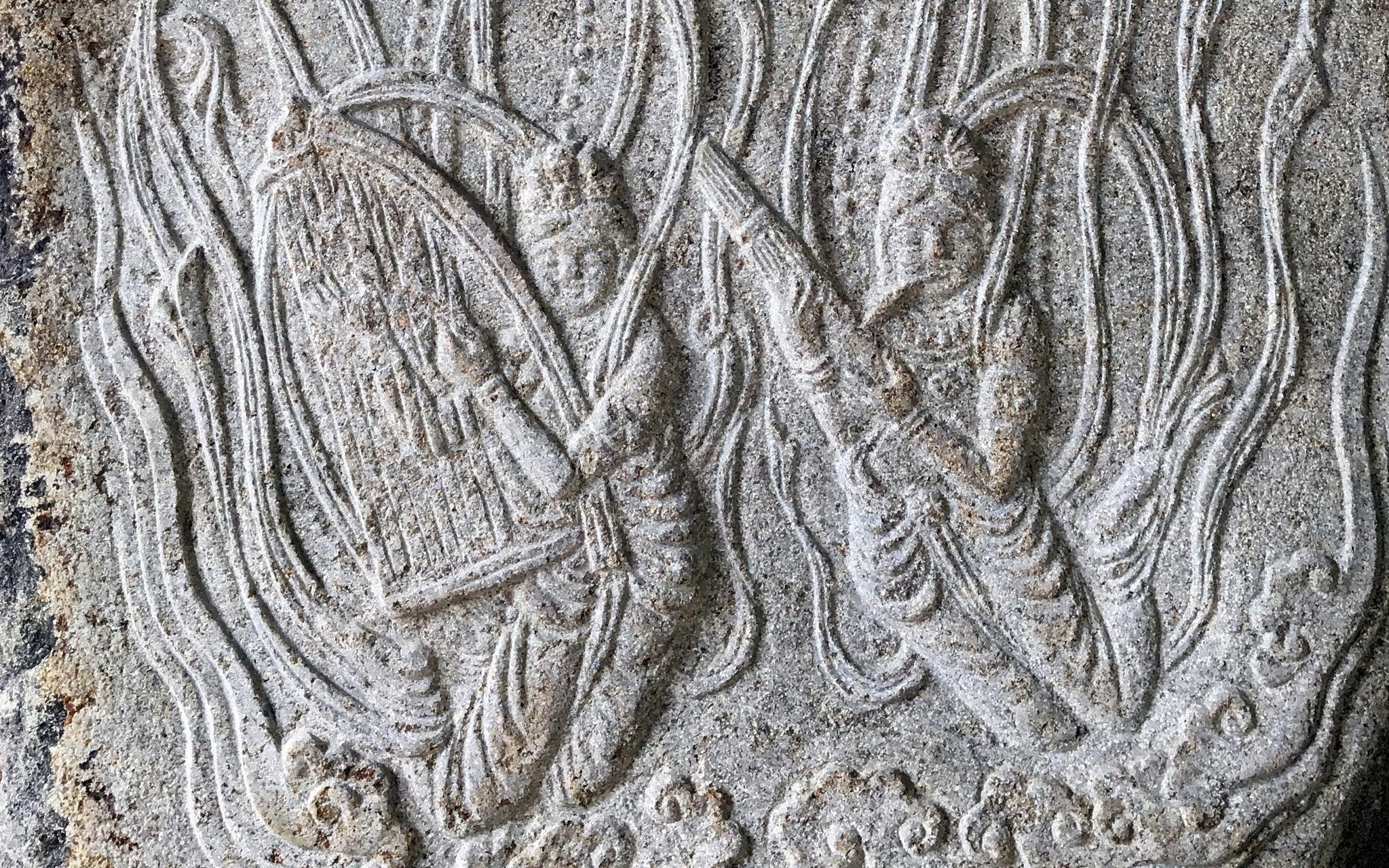 한국의 현존 동종 가운데 가장 오래된(725년, 통일신라) 상원사 동종에 생황(오른쪽)과 공후를 연주하는 문양이 새겨져 있다. 생황은 우리 민족이 고대부터 연주하던 악기다. 최정동 기자