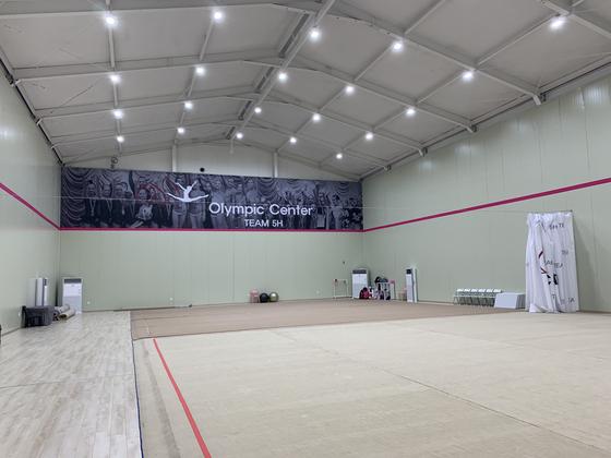 지난 12일 서울 송파구에 개관한 한국 최초 리듬체조 전용 체육관. [중앙포토]