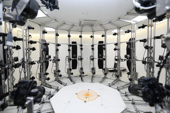 엔씨소프트 3D스캔 스튜디오 촬영 장비 [사진 엔씨소프트]