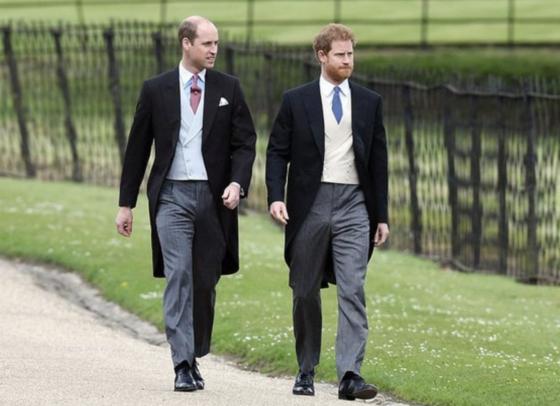 윌리엄 왕자와 해리 왕자. [인스타일 홈페이지]