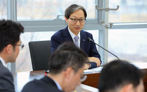 김성주 국민연금공단 이사장.[뉴스1]