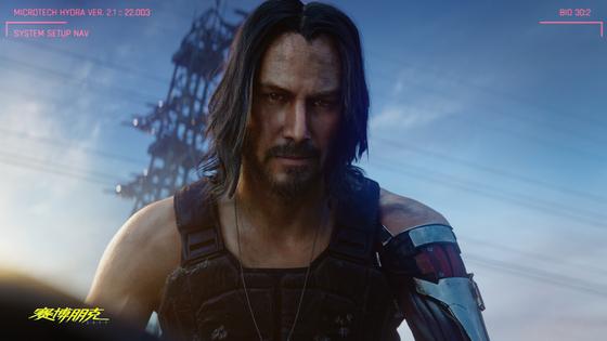 세계 최대 게임쇼인 E3에서 공개된 신작 게임 '사이버펑크2077'에는 헐리웃 유명 배우 키아누 리브스가 출연해 화제를 모았다.[사진 CD프로젝트 레드]