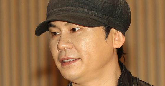 양현석 YG 전 대표 프로듀서. [중앙포토]