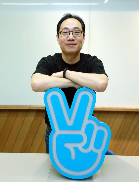 중앙일보는 12일 경기도 성남시 분당 네이버 그린팩토리에서 서국환 네이버 V 리더를 만났다. [사진 네이버]