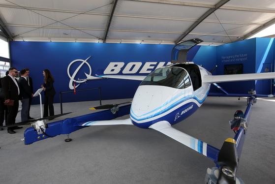 미 Boeing NeXt가 개발 한 보잉 여객 항공 차량 (PAV)의 프로토 타입. [TASS=연합뉴스]