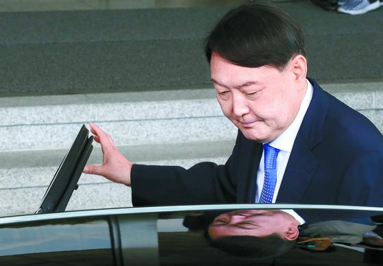 [사진] 검찰총장 윤석열 지명