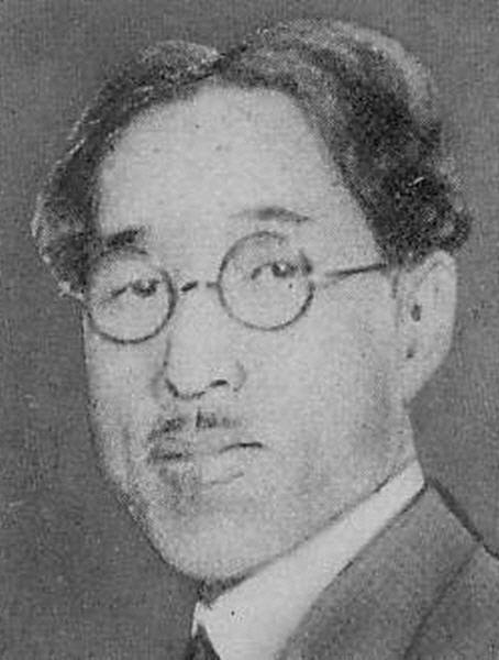 나치 규탄에 앞장 선 하세가와 뇨제칸. 그러나 정작 일본이 주장하는 대동아공영권을 당연한 것으로 생각했다. [사진 wikipedia]