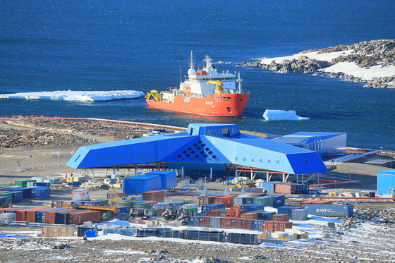남극의 극한 환경만큼 소음도 무섭다. 장보고 기지의 전경. [중앙포토]