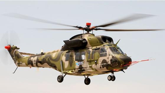 한국형 헬기(KUH, Korean Utility Helicopter) 수리온 [사진 한화에어로스페이스 홈페이지]