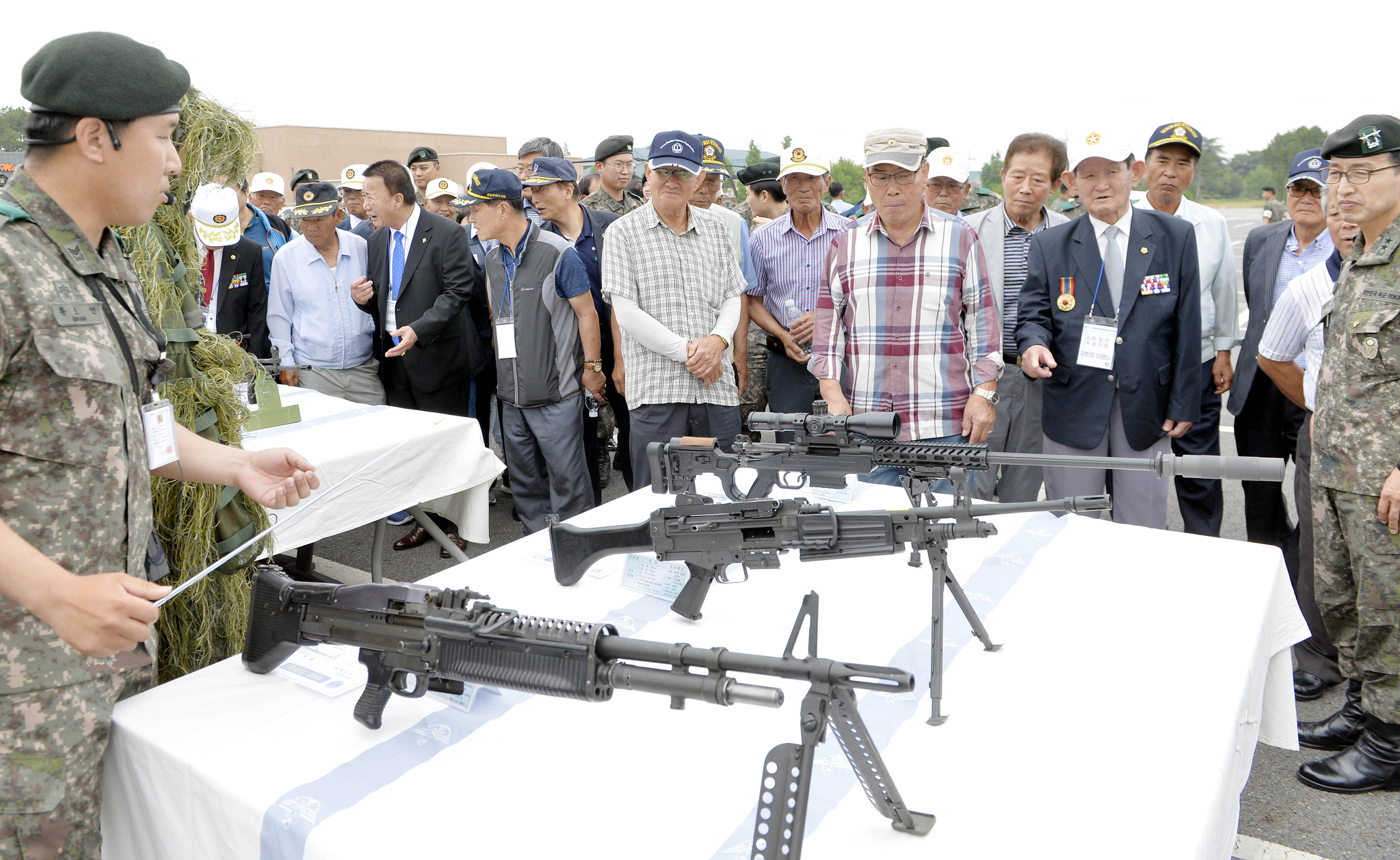 군 화력장비 전시. 프리랜서 김성태