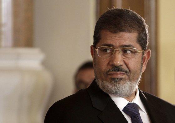 이집트 시민혁명 후 첫 민선 대통령으로 당선된 무르시 전 이집트 대통령. [AP=연합뉴스]
