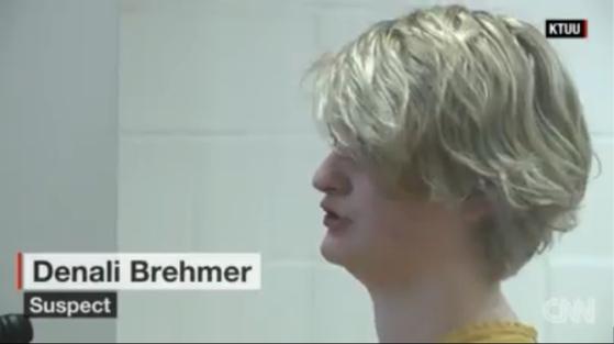 친구를 살해한 혐의로 기소된 미국 알래스카 출신의 데날리 브레머. [KTUU TV=뉴스1]