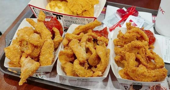 출시해달라 KFC 업무 마비시킨 닭껍질튀김 첫날 후기 보니