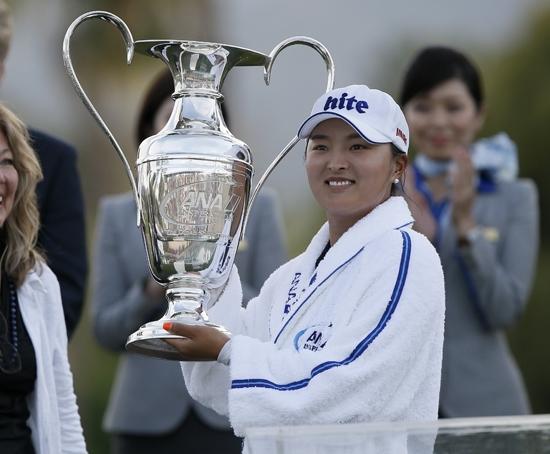 ANA 인스퍼레이션 우승자이자 세계 랭킹 1위인 고진영. 연합뉴스 제공