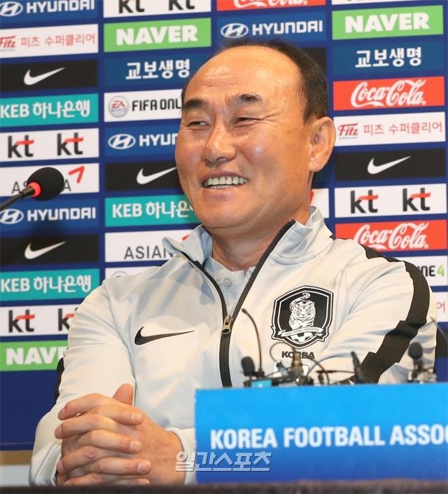 김학범 한국 올림픽 대표팀 감독. IS포토