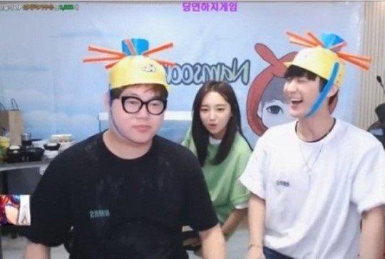 BJ 감스트(왼쪽)·외질혜(가운데)·NS남순. [사진 아프리카TV]
