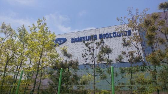 인천 연수구에 위치한 삼성바이오로직스 공장 건물. 김민상 기자