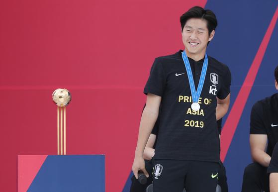 20세 이하 월드컵에서 한국의 준우승을 이끈 이강인. [양광삼 기자]