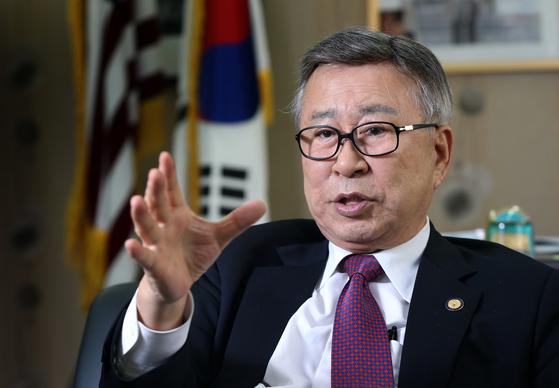 김창준 전 미국연방하원의원. 김상선 기자