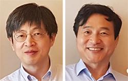 김진수 서울대 교수(左), 성영철 포항공대 교수(右)