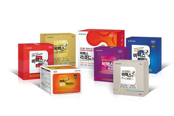 비맥스 시리즈에는 부족하기 쉬운 비타민·마그네슘 등이 균형 있게 함유돼 있다.