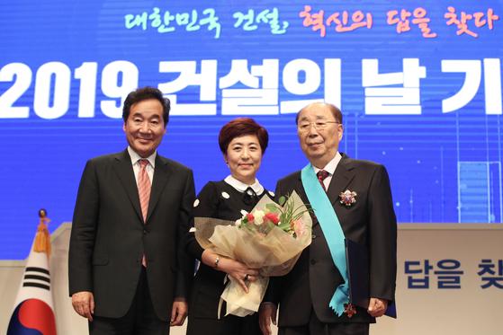 이광래 우미건설 회장 금탑산업훈장