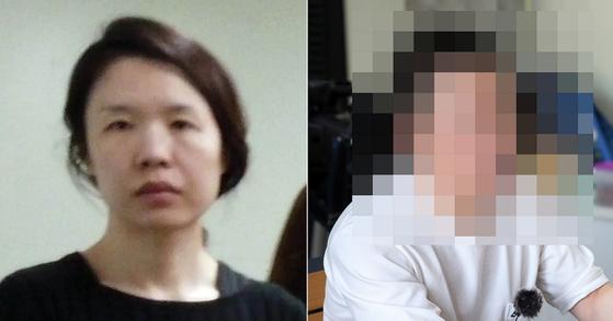 전 남편 살해사건 피의자 고유정(왼쪽), 고유정의 현재 남편 A씨. [연합뉴스, 프리랜서 장정필]