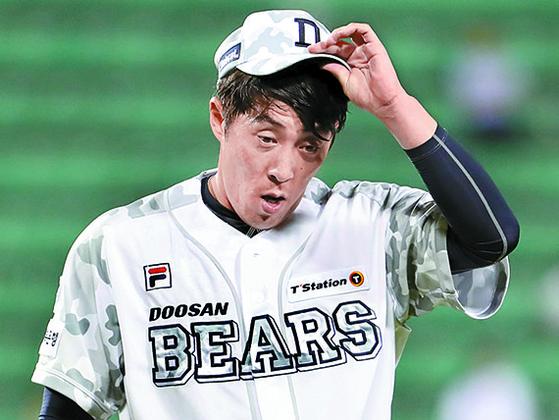 두산 팬 김승회는 두산에서 13시즌째 뛰고 있다. [뉴시스]