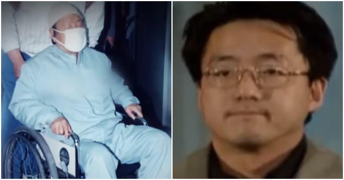 정태수 전 한보그룹 회장(사진 왼쪽)과 넷째 아들 정한근씨. [사진 JTBC 이규연의 스포트라이트 방송 캡처]