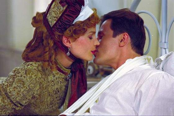 강윤성 감독의 인생 영화 '러브 오브 시베리아'. 미국 여성 로비스트와 러시아 사관생도의 비운의 사랑을 그렸다. [사진 브에나비스타코리아]