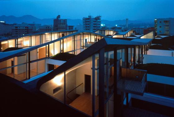 '넥서스 월드'에서 네덜란드 건축가 렘 콜하스가 설계한 동의 모습.[사진 OMA]