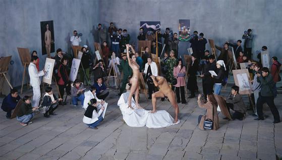 Moma Studio, 170x300cm, 2005