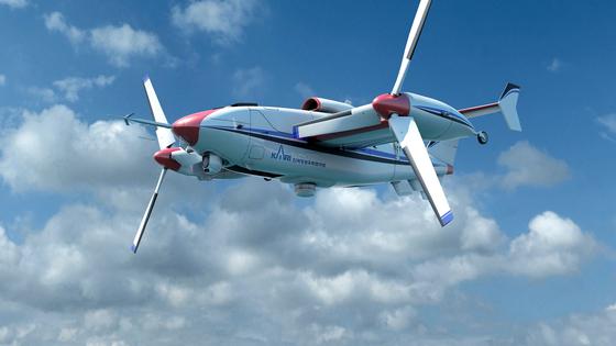 항공우주연구원의 틸트로터 무인기. 개발엔 성공했지만, 사업화엔 9년째 실패다. [사진 항우연]