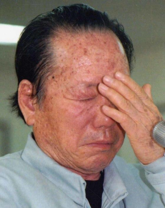 2004년 한보그룹 청문회 당시 정태수 한보그룹 총회장의 모습. [중앙포토]