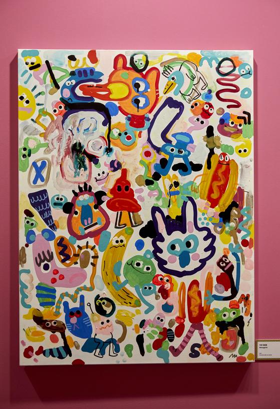 우연히 창조된 캐릭터와 스토리로 유쾌한 작품을 만드는 존 버거맨은 자신의 작업을 '목적 없이 끄적거리다, 낙서하다'라는 의미를 담고 있는 두들(doodle)이라고 말한다.