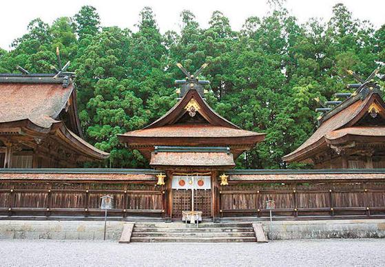 신사 '구마노 혼구타이샤'.