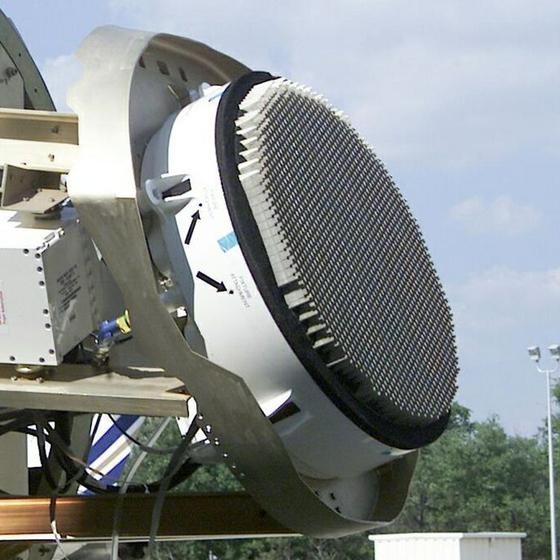 F-35 전투기에 장착되는 AN/APG-81 AESA 레이더 [사진 노드롭그루만]