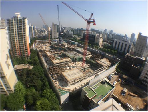 후분양을 결정한 서울 강남구 삼성동 상아2차 재건축 아파트. 지난해 12월 착공해 2021년 9월 준공 예정이다. 후분양하면 주택도시보증공사의 규제를 받지 않고 분양가를 자율적으로 정할 수 있다.
