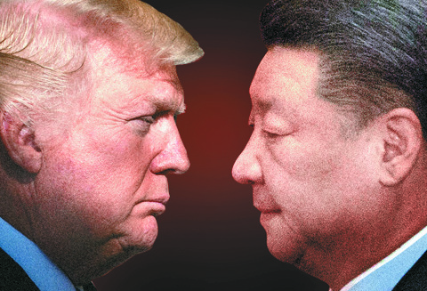 도널드 트럼프 미국 대통령과 시진핑 중국 국가주석. [중앙포토]