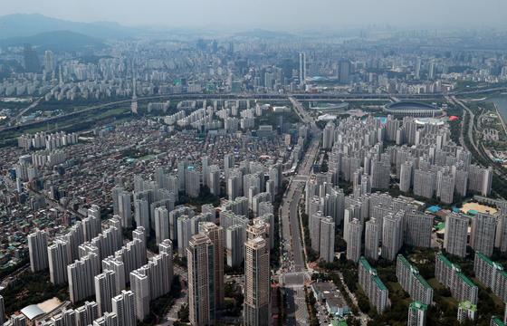 서울 송파구 일대 아파트 단지의 모습. [중앙포토]
