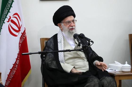 이란 최고지도자 알리 후세이니 하메네이[EPA=연합뉴스] 지>