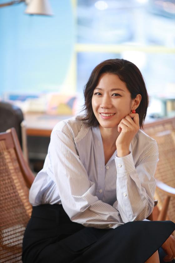 영화 '비스트' 배우 전혜진을 개봉 전 서울 삼청동에서 만났다. [사진 NEW]