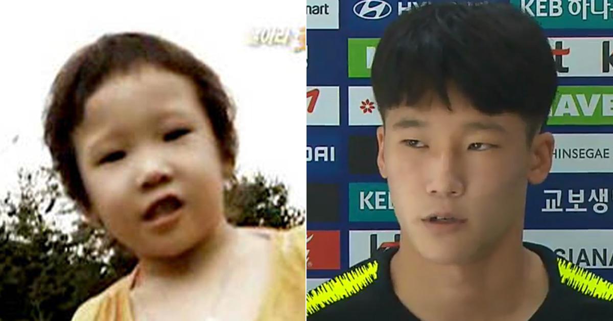 2006년 KBS2 날아라슛돌이에 출연했던 이태석(왼쪽)가 2019 U-17 월드컵 대표팀 소속 선수로 뽑혔다. [KBS화면 캡처]