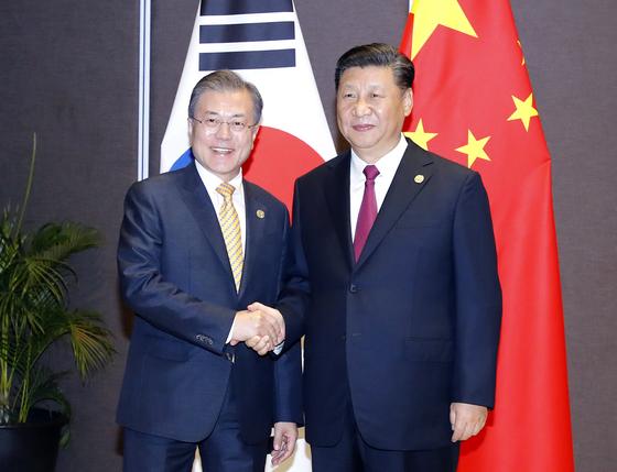 문 대통령, G20 첫 주요일정은 한·중 정상회담