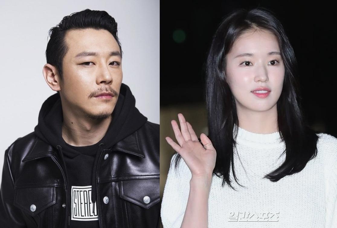 래퍼 빌스택스와 배우 박환희. [일간스포츠]