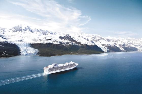 글레이셔베이 국립공원은 알래스카 빙하 크루징 명소다. [사진 롯데관광]