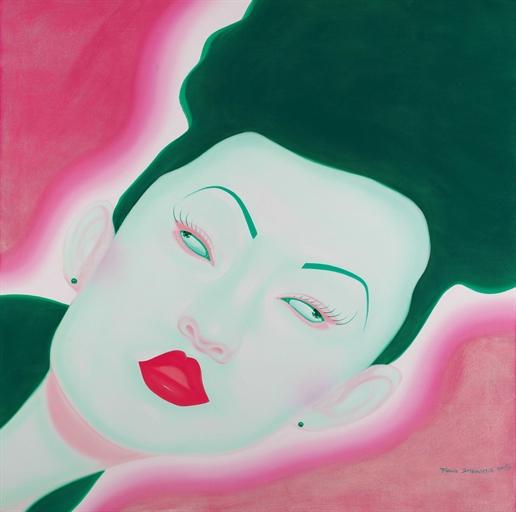 펑정지에,'Untitled'(,2006,oil on canvas,150X150 cm). [사진 갤러리 B.]