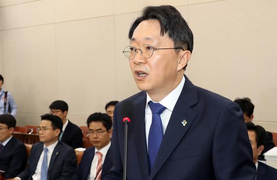 김현준 국세청장 후보자가 지난 26일 인사청문회에서 모두발언하고 있다. 변선구 기자