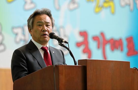 이기흥 대한체육회장. [연합뉴스]