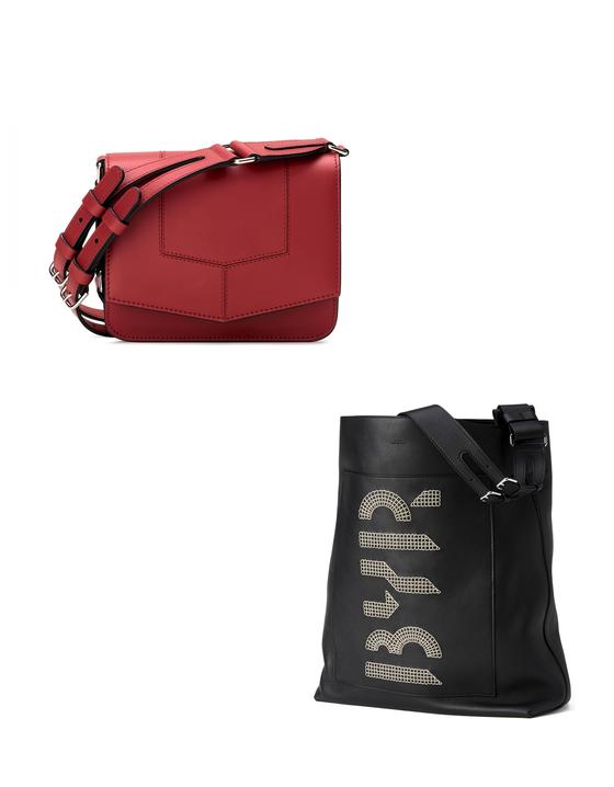 벤 고햄이 직접 디자인한 바이레도의 핸드백과 쇼퍼백.